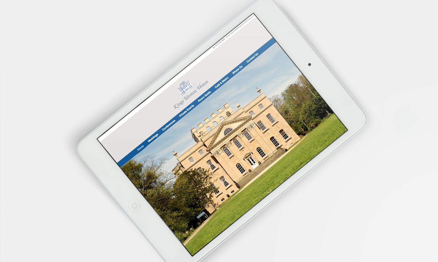 Listed Building Website Design 1