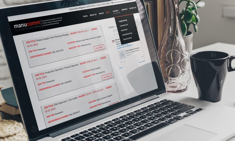Recruitment web design 2